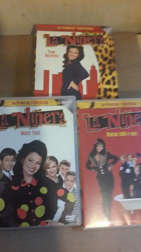 la niñera, primera temporada, 22 episodios, 3 dvd, 2005