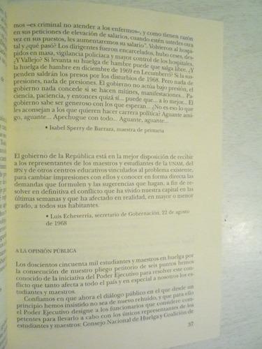 la noche de tlatelolco. elena poniatowska. 6a reimp. 2003.