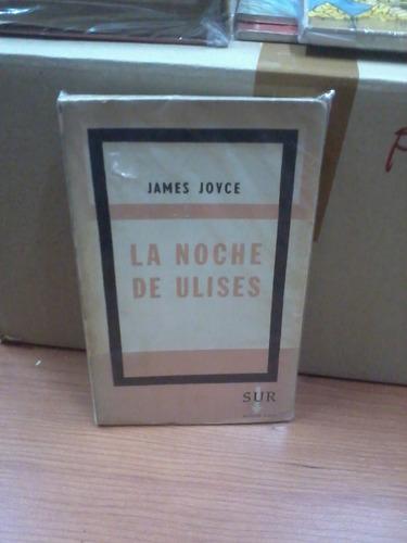 la noche de ulises - james joyce - sur - 1961 teatro