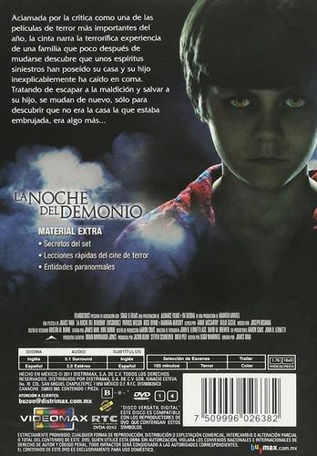 la noche del demonio insidious james wan pelicula dvd