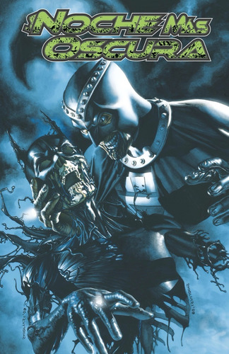 la noche más oscura xp vol. 02 - dc ecc comics - robot negro