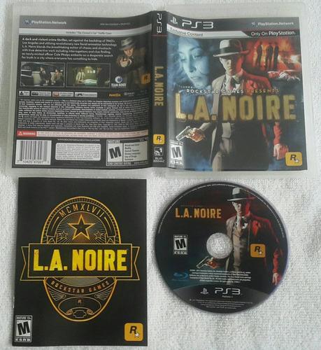 l.a. noire - ps3 fisico - playstation 3