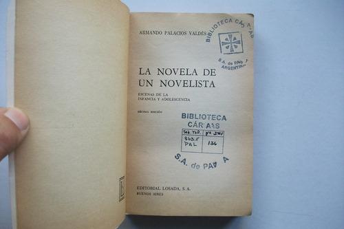 la novela de un novelista - armando palacio valdés