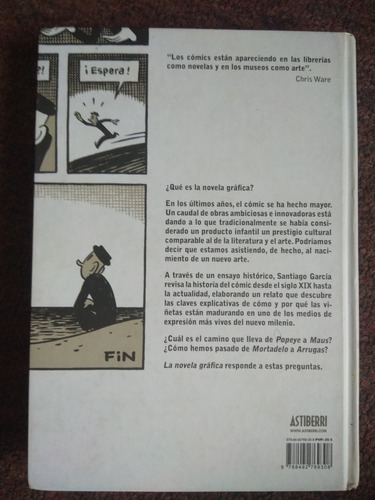la novela grafica santiago garcia