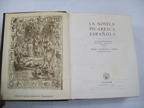 la novela picaresca española editorial aguilar 2051 paginas