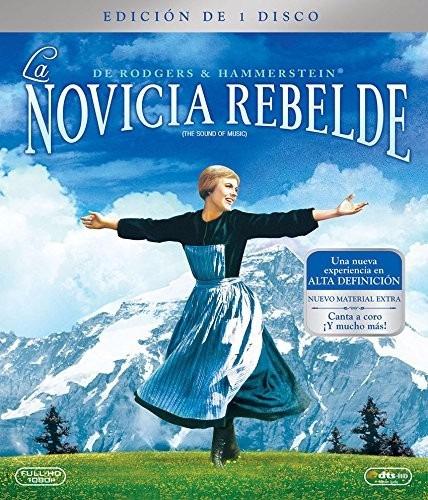 la novicia rebelde the sound of the music pelicula blu-ray