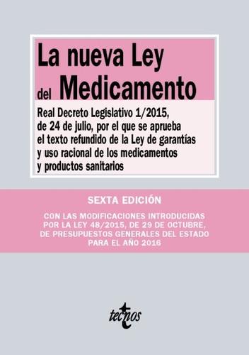 la nueva ley del medicamento(libro derecho administrativo)