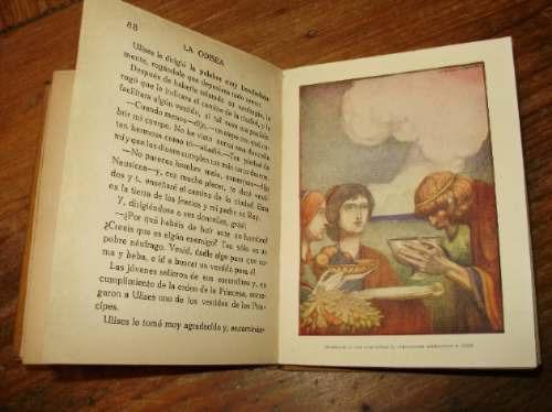 la odisea para niños homero coleccion araluce 1914?