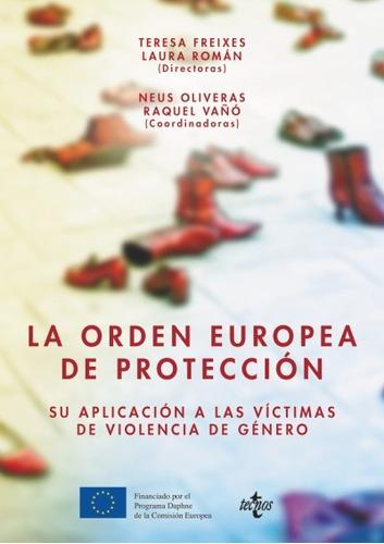 la orden europea de protección(libro las políticas de la uni