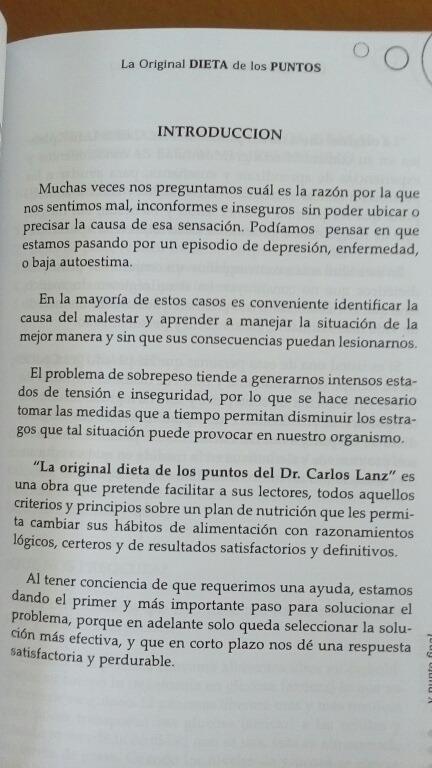 La Original Dieta De Los Puntos Y Libro De Recetas Bs 4900000