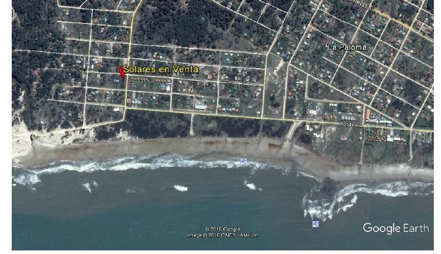 la paloma playa anaconda terreno