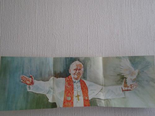 la paloma que llego de roma - testimonio del papa