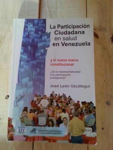la participación ciudadana en salud en venezuela