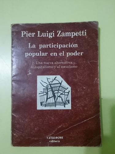 la participación popular en el poder p.l. zampetti