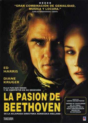 la pasion de beethoven  - dvd original usado