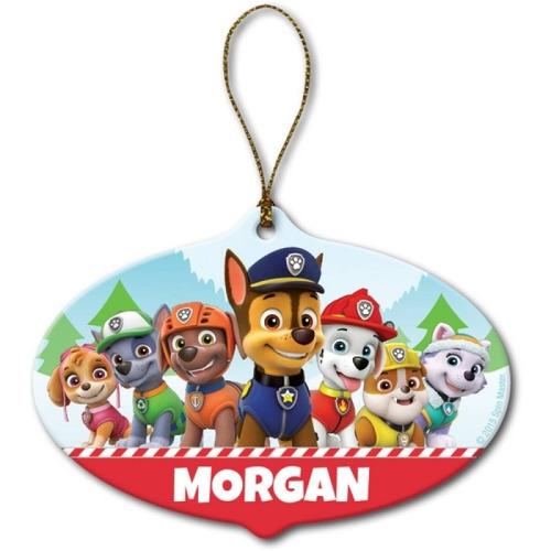 la patrulla de cachorros decoración navideña