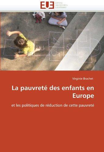 la pauvrete des enfants en europe; virginie brachet