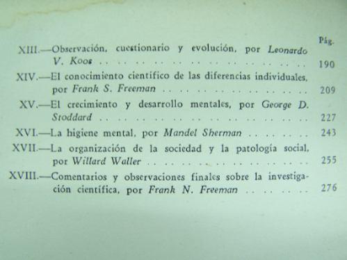la pedagogia cientifica * frank n. freeman * losada 1944 *