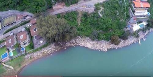 la peña - últimos terrenos sobre el lago