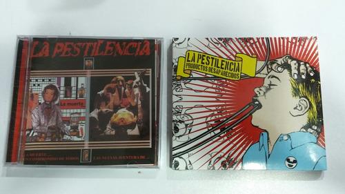 la pestilencia 2 cds la muerte/ productos desaparecidos