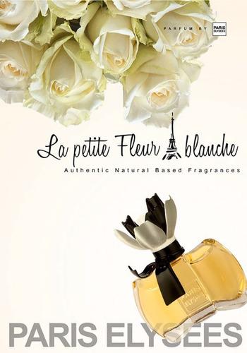 la petite fleur blanche de 100 ml paris elysees - perf fem