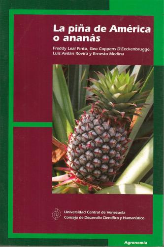 la piña de américa o ananás - leal, coppens, avilán y medina
