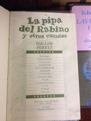 la pipa del rabino y otros cuentos, itsic leib peretz