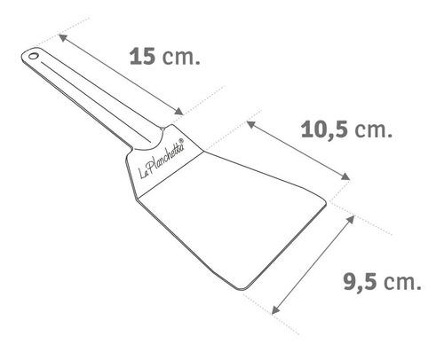 la planchetta orig. 2 hornallas + 1 hornalla + 1 espatula