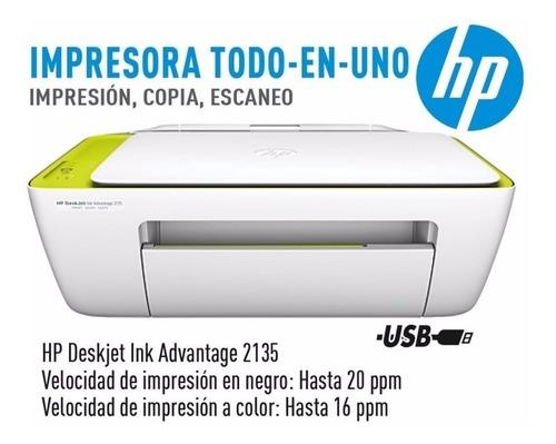 la plata! impresora hp 2135 multifuncion escanner copia gtia