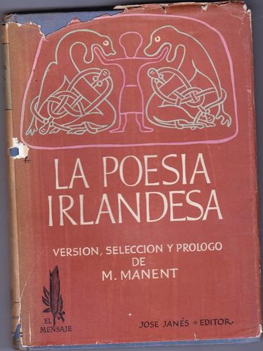 la poesia irlandesa ((m. manent)