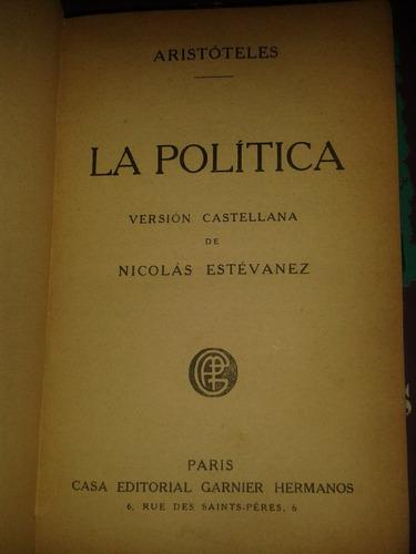 la politica aristoteles