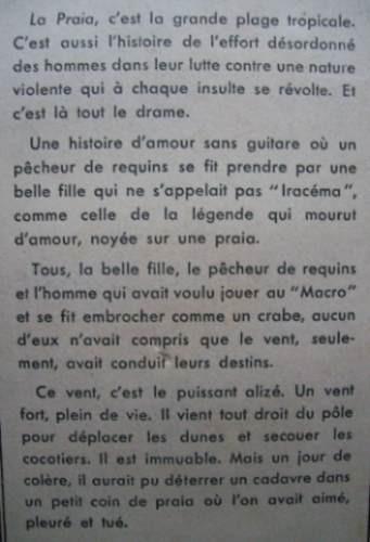 la praia ekman roman editeur librairie gallimard año 1956