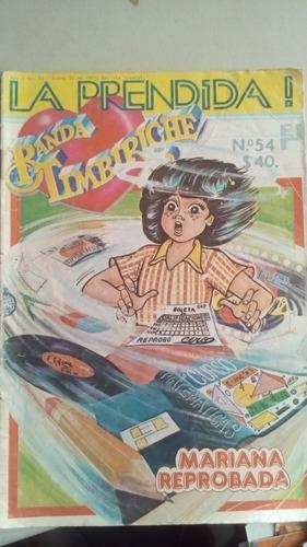 la prendida banda timbiriche no.54 comic año-1985 proyección