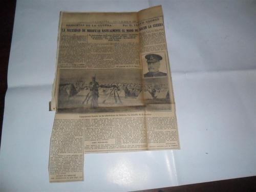 la prensa 1933 guerra milita lloyd george campamento frances