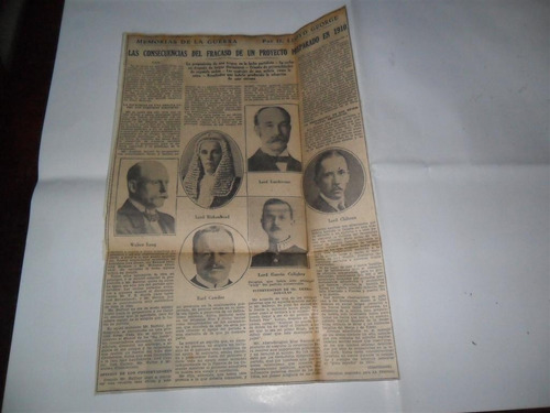 la prensa 1933 guerra milita lloyd george cawdor long 1910