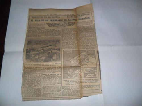 la prensa 1933 guerra milita lloyd george desembarco salonic