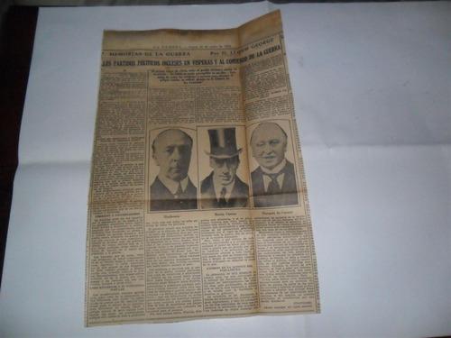 la prensa 1933 guerra milita lloyd george marques de curzon