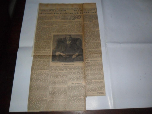 la prensa 1933 guerra militar lloyd george mr bonar law