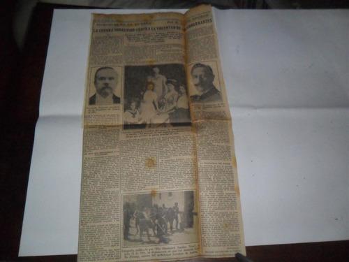 la prensa 1933 guerra militar lloyd george poincare prinzip