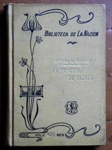 la princesa de cleves / la fayette (biblioteca de la nación)