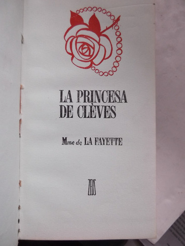 la princesa de cleves madame de la fayette tapa dura