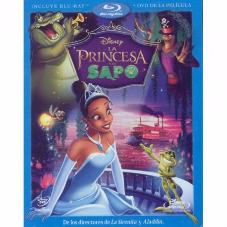 la princesa y el sapo (br + dvd)