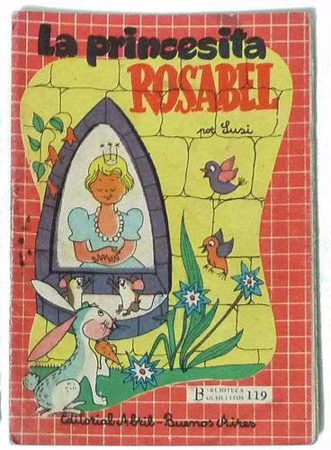 la princesita rosabel - biblioteca bolsillitos nº 119