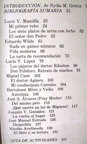 la prosa argentina del ochenta fray mocho cané avellaneda