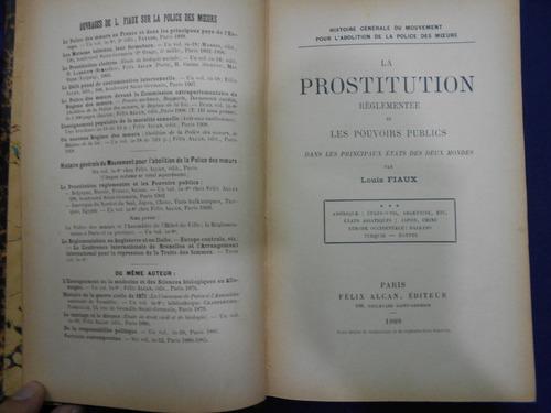 la prostitution reglementee et les pouvoirs publics  dansles