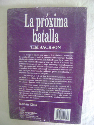 la próxima batalla. japón y usa a la conquista - tim jackson