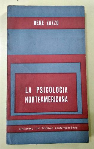 la psicología norteamericana rene zazzo