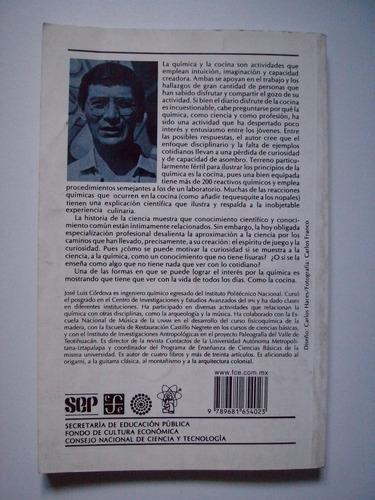 la química y la cocina - josé luis córdova frunz 2001