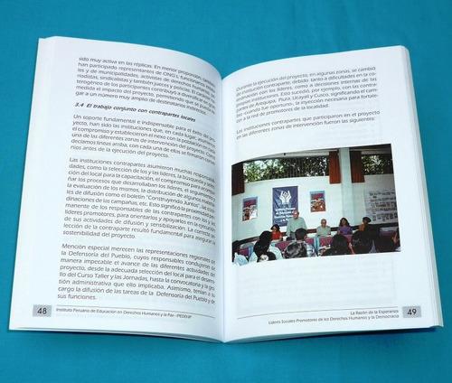 la razón de la esperanza derechos humanos democracia en perú
