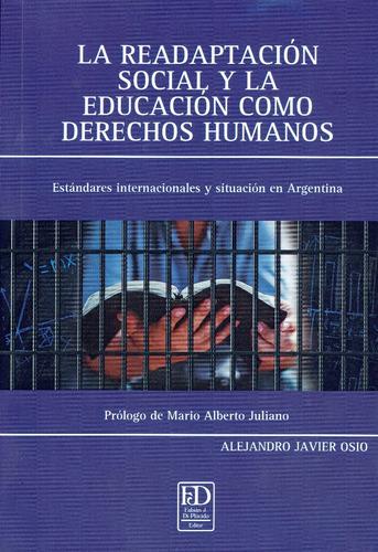 la readaptación social y la educación como derechos humanos